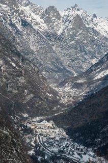 Vallée de la Romanche. Vue sur Gavet