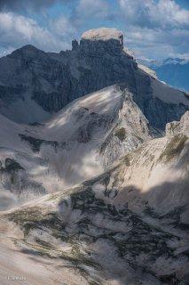 Col de Lapras, les Agards et l'Obiou