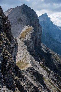 Col du Courtet, le Rougnou et le Grand Ferrand