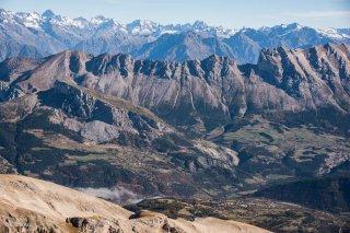 L'intérieur du massif du Dévoluy et la Montagne du Faraut
