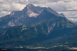 Le plateau de Cordéac et l'Obiou