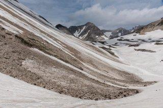 Col de Lapras et la Tête de la Cavale. Hautes-Alpes et Isère