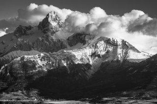 Le massif de l'Obiou, côté nord
