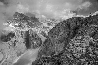 Le Grand Ferrand vu depuis le Rocher Rond
