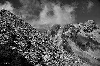 Le massif de l'Obiou, côté sud