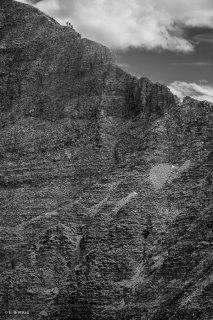 Le Malpasset, passage délicat pour une des ascensions engagée de l'Obiou