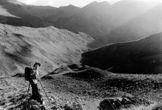 Yveline, bergère dans le Champsaur. Hautes-Alpes