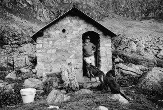 Pierrot, éleveur et berger dans le Valgaudemar. Hautes-Alpes