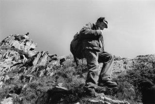 Marcel, berger à Crévoux. Hautes-Alpes