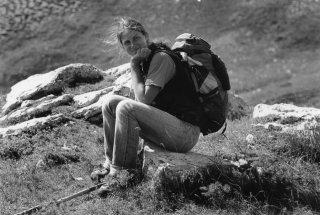 Marie, bergère dans la Drôme