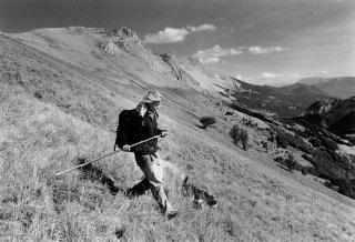 Aurore, bergère dans le Dévoluy. Hautes-Alpes
