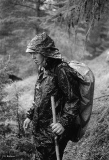 Marie, bergère dans la Drôme, sous l'orage