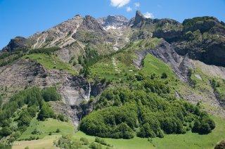 Alpage à Champoléon. Champsaur, Hautes-Alpes