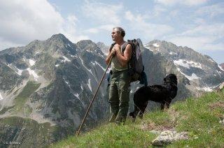 Gilles, éleveur en alpage. Champsaur, Hautes-Alpes