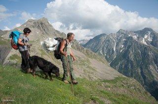 Gilles et Maryline, éleveurs en alpage. Champsaur, Hautes-Alpes