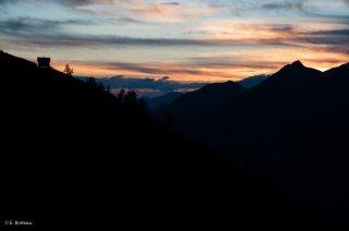 Cabane de berger en Champsaur. Hautes-Alpes