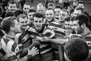 Match de rugby, victoire à Monestier de Clermont. Novembre 2015