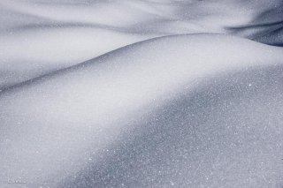 Neige sensuelle sur les hauts-plateaux du Vercors