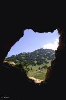 Grotte des résistants au Pas de l'Aiguille