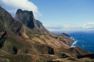 Ile Robinson Crusoé. Le mont Yunque