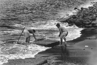 Ile Robinson Crusoé. Les futurs marins pêcheurs