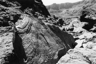 Vallée des Merveilles. Copie de la roche du chef de tribu