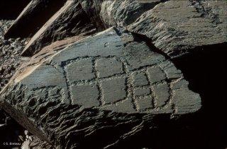 Vallée des Merveilles. Formes géométriques