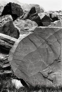 Vallée des Merveilles. Portrait de berger