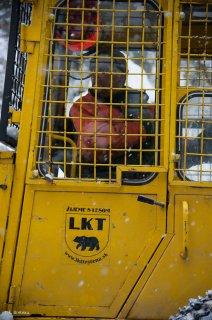 Tracteur forestier LKT, de fabrication slovaque