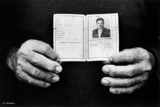 Carte d'identité italienne de 1956