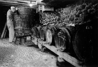 Soutirage du vin à Prébois