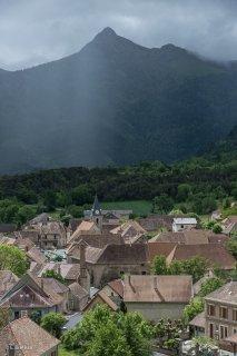 Saint-Maurice en Trièves devant le Rognon