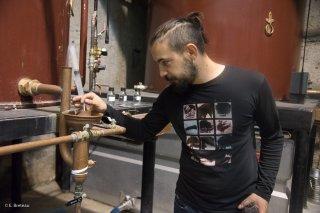 Distillerie de Whisky, Domaine des Hautes Glaces à Saint-Jean d'Hérans