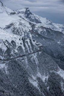 Rochassac et le sommet du Grand Ferrand. Isère