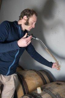 Jérémy Bricka viticulteur à Roissard. Isère