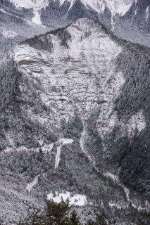 Le col de Mens dans le Trièves. Isère