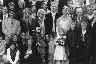 Jour de mariage à Roissard
